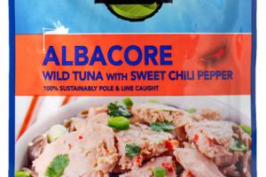 ALBACORE WILD TUNA WITH SWEET CHILI PEPPER
