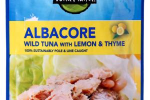 ALBACORE WILD TUNA WITH LEMON & THYME