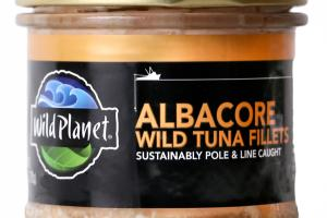 ALBACORE WILD TUNA FILLETS