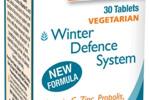 WINTERVITS DEFENCE SYSTEM FOOD SUPPLEMENT TABLETS
