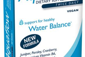 AQUAFLOW SUPPORT FOR HEALTHY WATER BALANCE DIETARY SUPPLEMENT TABLETS
