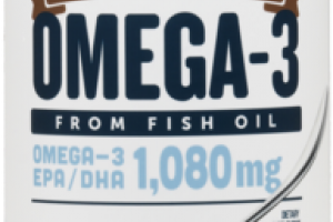OMEGA-3 FROM FISH OIL 1,080MG DIETARY SUPPLEMENT PINA COLADA
