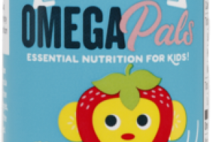 OMEGA PALS SENSATIONAL DIETARY SUPPLEMENT STRAW-NANA