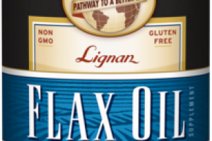 ORGANIC PURE & UNFILTERED LIGNAN FLAX OIL SUPPLEMENT