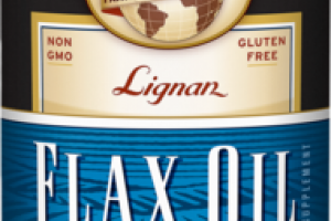 ORGANIC LIGNAN DIETARY SUPPLEMENT FLAX OIL