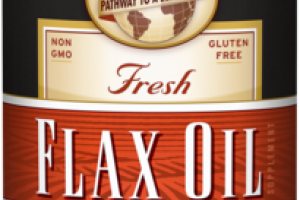 ORGANIC FRESH FLAX OIL DIETARY SUPPLEMENT