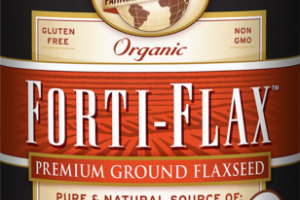 ORGANIC PREMIUM GROUND FLAXSEED