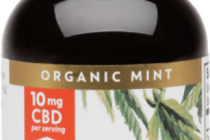 ORGANIC IDEAL 450 MG CBD HEMP OIL DIETARY SUPPLEMENT DROPPER INCLUDED MINT