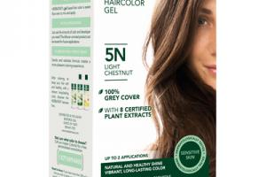 PERMANENT HAIRCOLOR GEL, CHESTNUT 4N