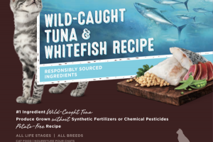 GRAIN FREE WILD-CAUGHT TUNA & WHITEFISH RECIPE CAT FOOD