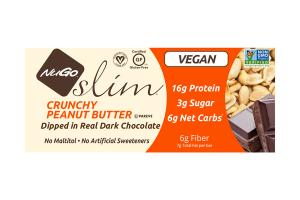 CRUNCHY PEANUT BUTTER DIPPED IN REAL DARK CHOCOLATE BARS