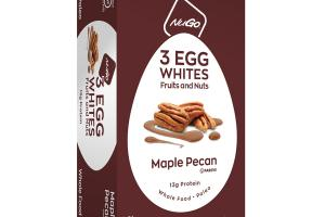 MAPLE PECAN 3 EGG WHITES FRUITS AND NUTS BARS