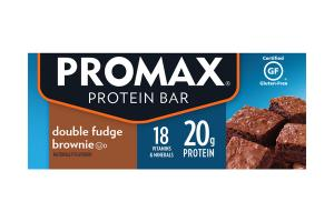 DOUBLE FUDGE BROWNIE PROTEIN BAR