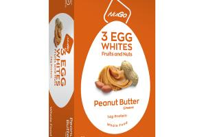 3 EGG WHITES FRUITS AND NUTS PEANUT BUTTER BARS