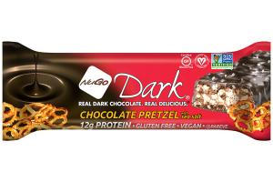 DARK CHOCOLATE PRETZEL WITH SEA SALT PROTEIN BAR