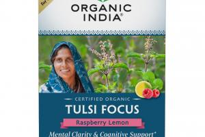 TULSI FOCUS RASPBERRY LEMON