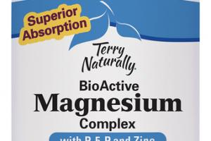 SUPERIOR ABSORPTION BIOACTIVE MAGNESIUM COMPLEX WITH P-5-P AND ZINC DIETARY SUPPLEMENT CAPSULES