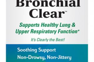 SUPPORTS HEALTHY LUNG & UPPER RESPIRATORY FUNCTION DIETARY SUPPLEMENTS TABLETS