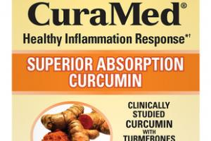375MG CURAMED HEALTHY INFLAMMATION RESPONSE SUPERIOR ABSORPTION CURCUMIN DIETARY SUPPLEMENT SOFTGELS