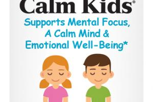 CALM KIDS SUPPORTS MENTAL FOCUS, A CALM MIND & EMOTIONAL WELL-BEING* DIETARY SUPPLEMENT CAPSULES