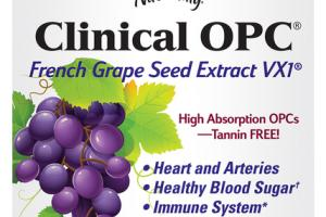 CLINICAL OPC FRENCH GRAPE SEED EXTRACT VX1 DIETARY SUPPLEMENT CAPSULES