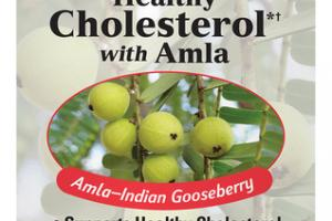 HEALTHY CHOLESTEROL AMLA-INDIAN GOOSEBERRY DIETARY SUPPLEMENT CAPSULES
