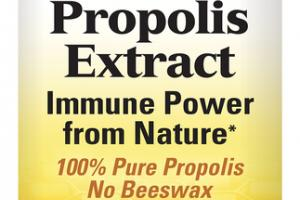PROPOLIS EXTRACT DIETARY SUPPLEMENT CAPSULES