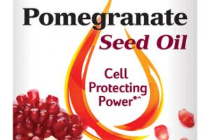 POMEGRANATE SEED OIL CELL PROTECTING POWER DIETARY SUPPLEMENT SOFTGELS
