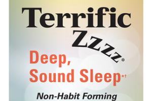 TERRIFIC ZZZZ DEEP, SOUND SLEEP DIETARY SUPPLEMENT SOFTGELS