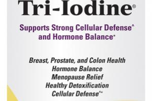 TRI-IODINE 12.5MG SUPPORTS STRONG CELLULAR DEFENSE AND HORMONE BALANCE DIETARY SUPPLEMENT CAPSULES