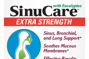 SINUCARE WITH EUCALYPTUS EXTRA STRENGTH ENTERIC-COATED SOFTGELS DIETARY SUPPLEMENT