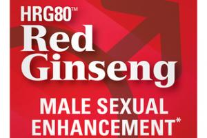 HRG80 RED GINSENG MALE SEXUAL ENHANCEMENT DIETARY SUPPLEMENT CAPSULES