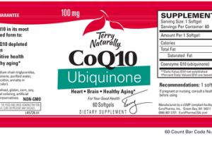 COQ10 UBIQUINONE DIETARY SUPPLEMENT SOFTGELS