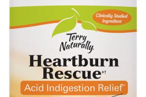 HEARTBURN RESCUE ACID INDIGESTION RELIEF DIETARY SUPPLEMENT SOFTGELS