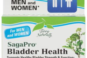 BLADDER HEALTH SUPPORTS HEALTHY BLADDER STRENGTH & FUNCTION DIETARY SUPPLEMENT TABLETS