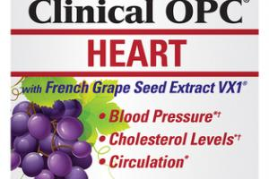 HEART WITH FRENCH GRAPE SEED EXTRACT VX1 DIETARY SUPPLEMENT VEGAN CAPSULES
