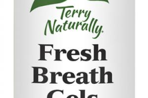 FRESH BREATH GELS DIETARY SUPPLEMENT SOFTGELS, COOL MINT