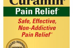 PAIN RELIEF CURAMIN WITH TURMERONES DIETARY SUPPLEMENT VEGAN CAPSULES