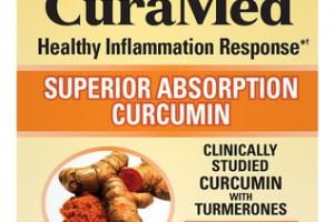 SUPERIOR ABSORPTION CURCUMIN 500 MG HEALTHY INFLAMMATION RESPONSE DIETARY SUPPLEMENT VEGAN CAPSULES