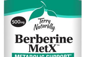 BERBERINE METX 500 MG METABOLIC SUPPORT DIETARY SUPPLEMENT VEGAN CAPSULES