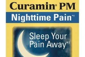 CURCUMIN NIGHTTIME PAIN SLEEP YOUR PAIN AWAY DIETARY SUPPLEMENT VEGAN CAPSULES