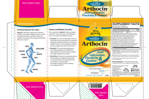 ARTHOCIN JOINT LUBRICATION, FLEXIBILITY & COMFORT* DIETARY SUPPLEMENT CAPSULES