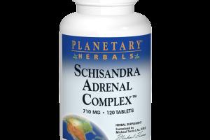 SCHISANDRA ADRENAL COMPLEX™ 710 MG HERBAL SUPPLEMENT TABLETS
