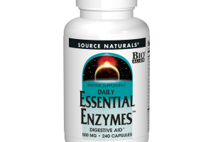 DAILY ESSENTIAL ENZYMES DIGESTIVE AID SUPPLEMENT CAPSULES