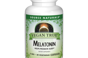 MELATONIN HELPS PROMOTE SLEEP 3 MG DIETARY SUPPLEMENT VEGETARIAN CAPSULES