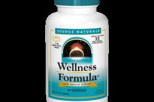 WELLNESS FORMULA DAILY IMMUNE SUPPORT DIETARY SUPPLEMENT CAPSULES