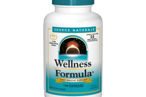 WELLNESS FORMULA DAILY IMMUNE SUPPORT VITAMIN C PLUS OVER 25 HERBS, VITAMINS, & NUTRACEUTICALS DIETARY SUPPLEMENT CAPSULES