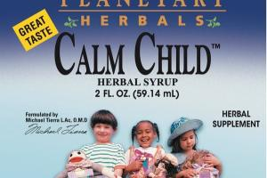 CALM CHILD HERBAL SYRUP SUPPLEMENT