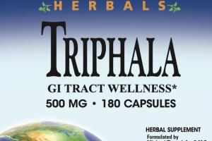 500 MG TRIPHALA GI TRACT WELLNESS HERBAL SUPPLEMENT CAPSULES