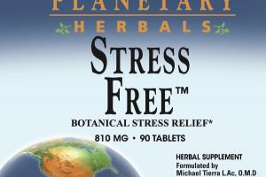 STRESS FREE BOTANICAL STRESS RELIEF 810 MG HERBAL SUPPLEMENT TABLETS